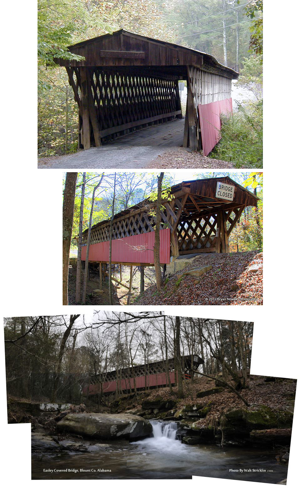 Old easley rosa bridge