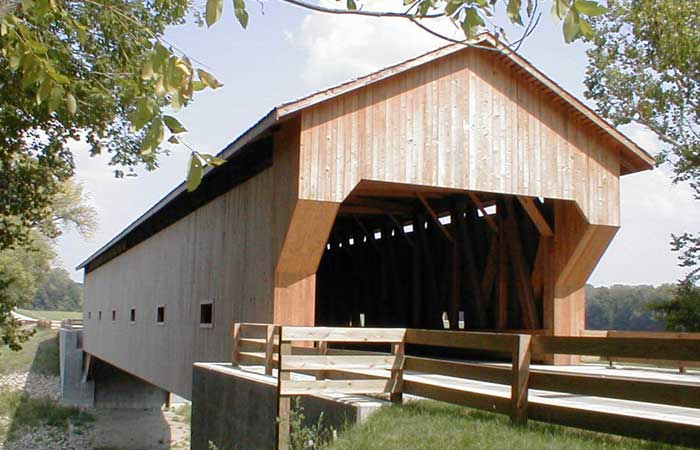 Greenup Illinois covered bridge