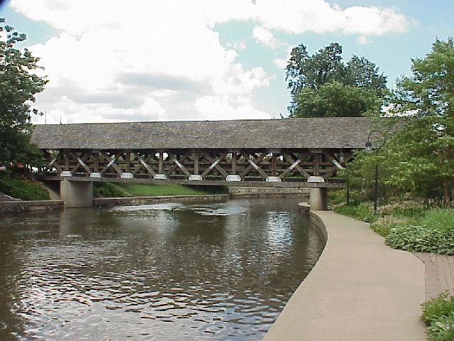 DuPage River covered bridge