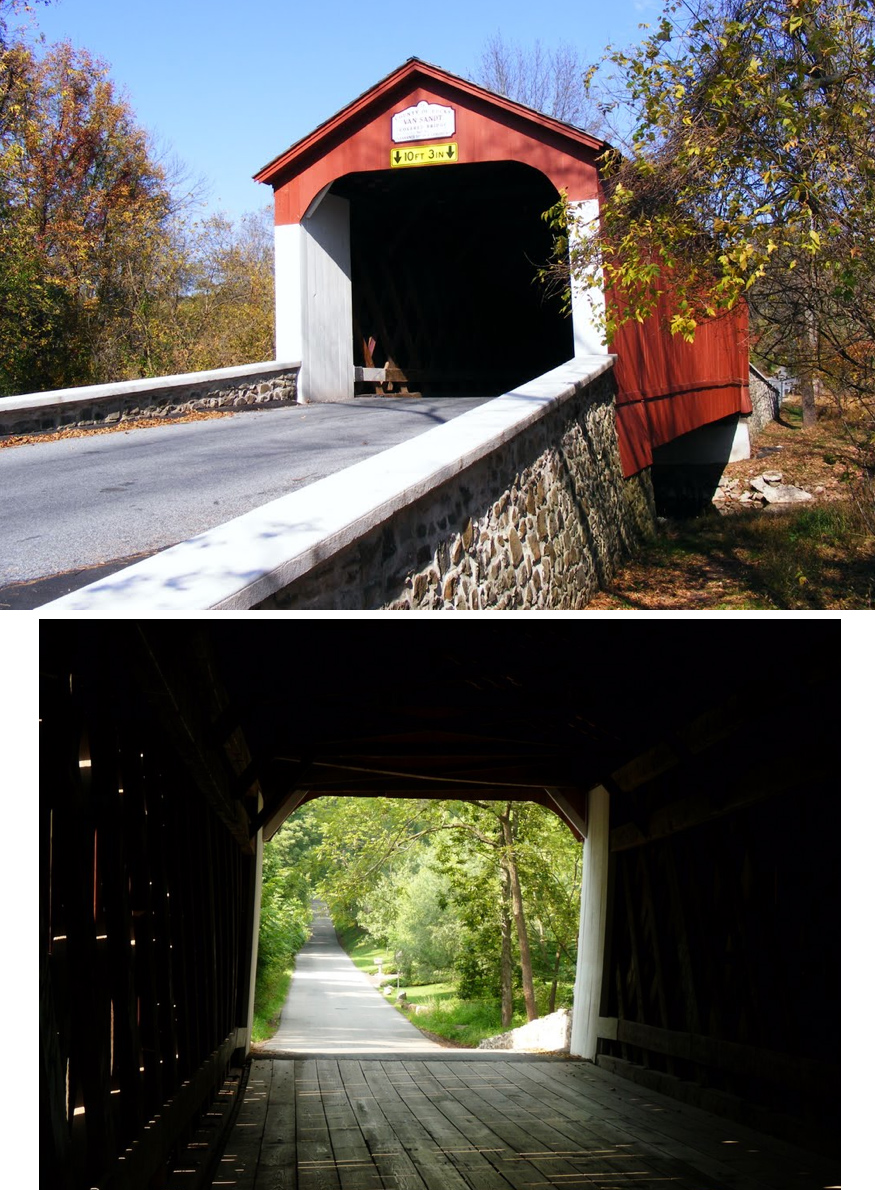 Van Sant covered bridge