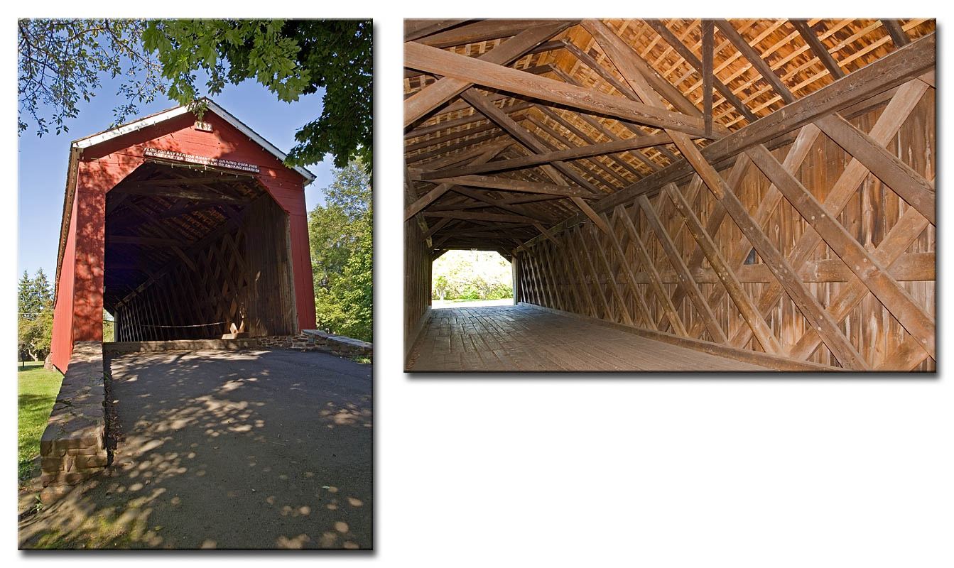 South Perkasie covered bridge