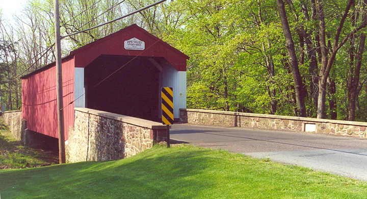 Iron Hillcovered bridge