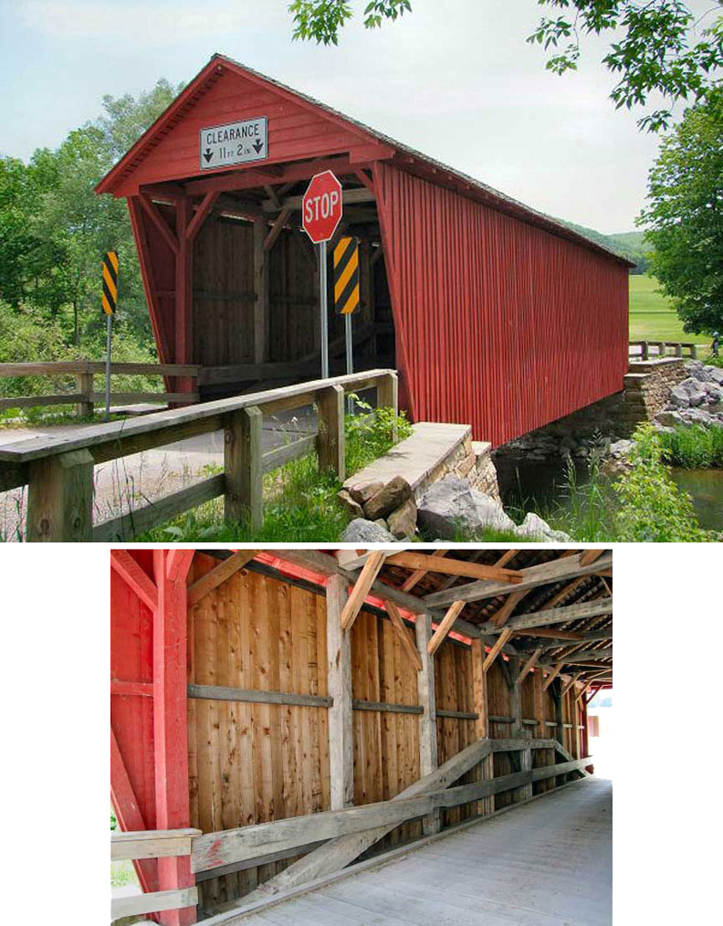Logan Mills covered bridge