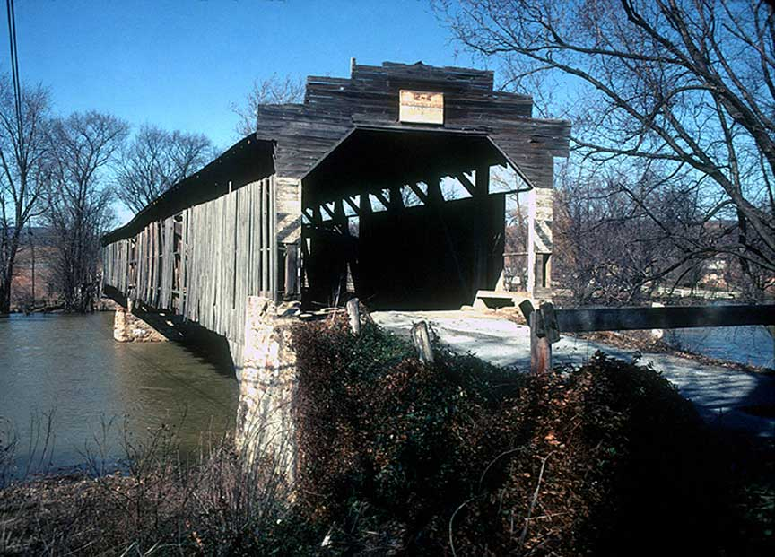 silver spring covered bridge