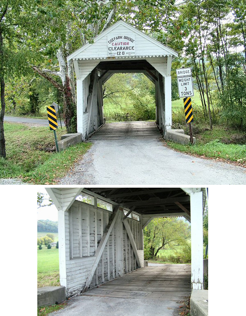 Lippincott or Cox Farm bridge